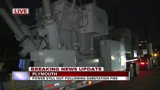 Thousands without power after explosion at DTE Energy power substation - Video