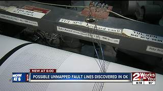 Possible unmapped fault lines discovered