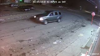 Video shows vehicle in the area of hit-and-run in Detroit - Video