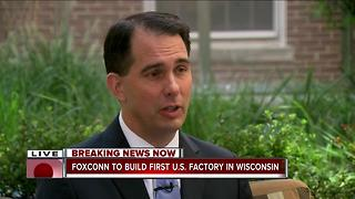 Trump, Walker and others announce Foxconn is coming to SE Wisconsin