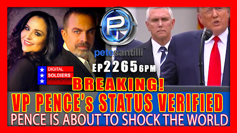 EP 2265-6PM VP PENCE's STATUS VERIFIED - THIS WILL SHOCK THE WORLD