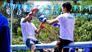 Boxing Fail Funny Time At Angkor Siem Reap Temple Area