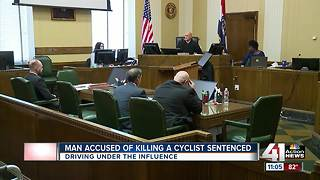 Man accused of killing cyclist sentenced