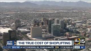 Phoenix police study evaluating economic impact of retail theft - Video