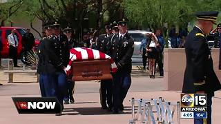 Funeral held for fallen Phoenix firefighter