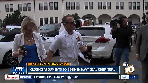 Closing arguments due in Navy SEAL war crimes trial