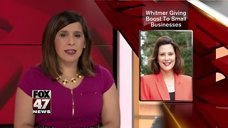 Small Businesses Getting Help From Governor Whitmer