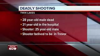 Man killed, another injured in Twin Lakes shooting - Video
