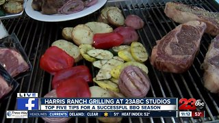 Harris Ranch top grilling tips