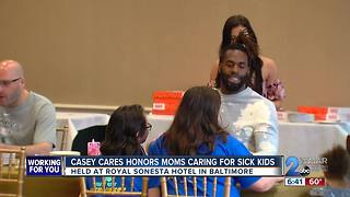 Casey Cares honors moms of sick kids - Video