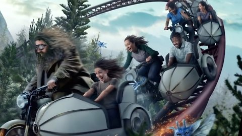 Universal's New Hagrid-Themed 'Harry Potter' Coaster Looks Spectacular in New Videos