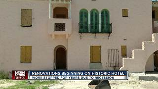 New Port Richey city leaders are making moves to reopen historic hotel - Video