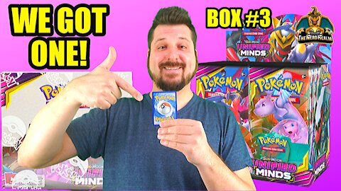 Unified Minds Booster Case (Box 3) | Mewtwo & Mew Hunting | Pokemon Opening