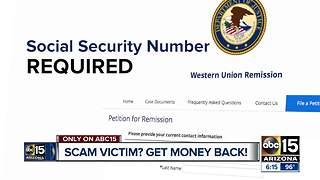 Scam victims in wiring scam have chance to get their cash back - Video