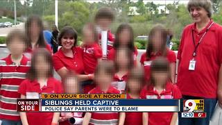 Siblings held captive