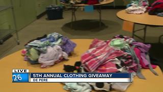5th Annual clothing Giveaway - Video