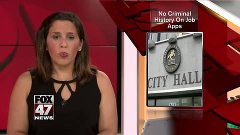 Jackson changes policy for criminal background on job applications