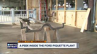 A peek inside the Ford Piquette Plant - Video