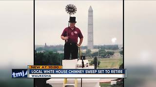 Waukesha man about to retire as White House chimney sweep - Video