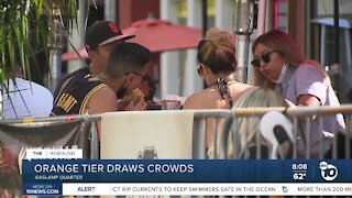 First weekend in Orange Tier draws crowds
