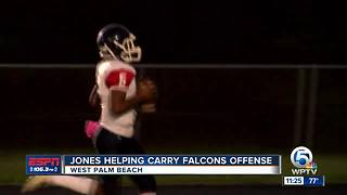 BJ Jones Leading Soaring Falcons - Video