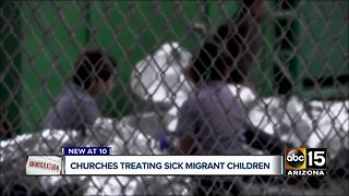 Valley churches hosting migrant families in need of medical care and supplies
