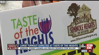 Taste of the Heights expects record turnout in wake of Seminole Heights killings - Video