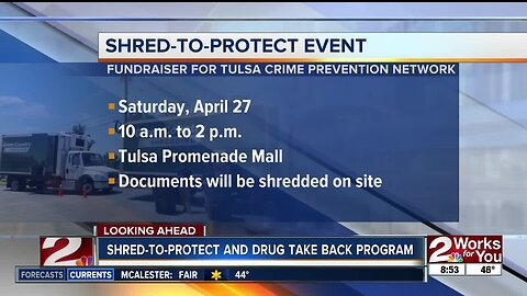 "Tulsa Crimestoppers' previews ""Shred-to-Protect"" event"