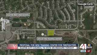 Olathe to consider building a training center for firefighters