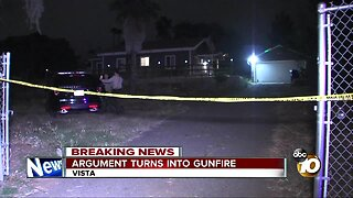 Gunfire erupts after argument between landlord and tenant in Vista