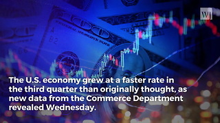 Another Win for Trump's Economy: Third-Quarter GDP Growth Highest in 3 Years - Video