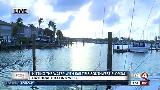 Learn how to sail on National Boating Week - 7am live report - Video