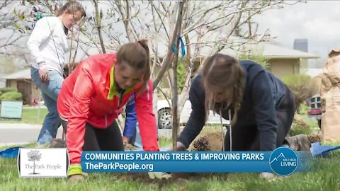 The Park People // Planting Trees & Improving Parks For The Community!