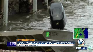 7 people pulled from the water in West Palm Beach - Video