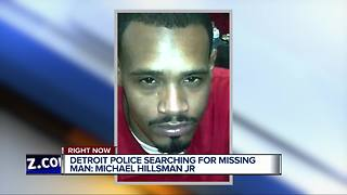 Detroit Police search for missing man suffering from anxiety, takes medication - Video