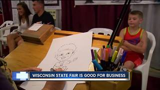 Wisconsin state fair helps small local business - Video