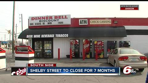 Business owners scrambling after finding out street will be closed for nearly seven months