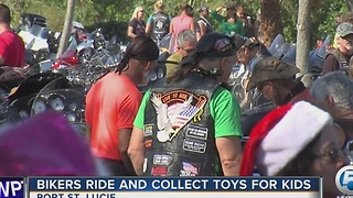 Bikers toy run - Video