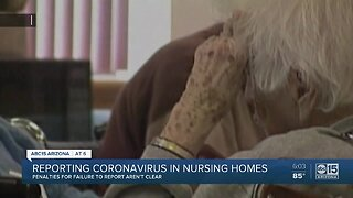 Reporting coronavirus in Arizona nursing homes
