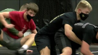 Wrestling during a pandemic: how Milwaukee-area high schools are adjusting