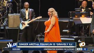 Singer Aretha Franklin is 'gravely ill'