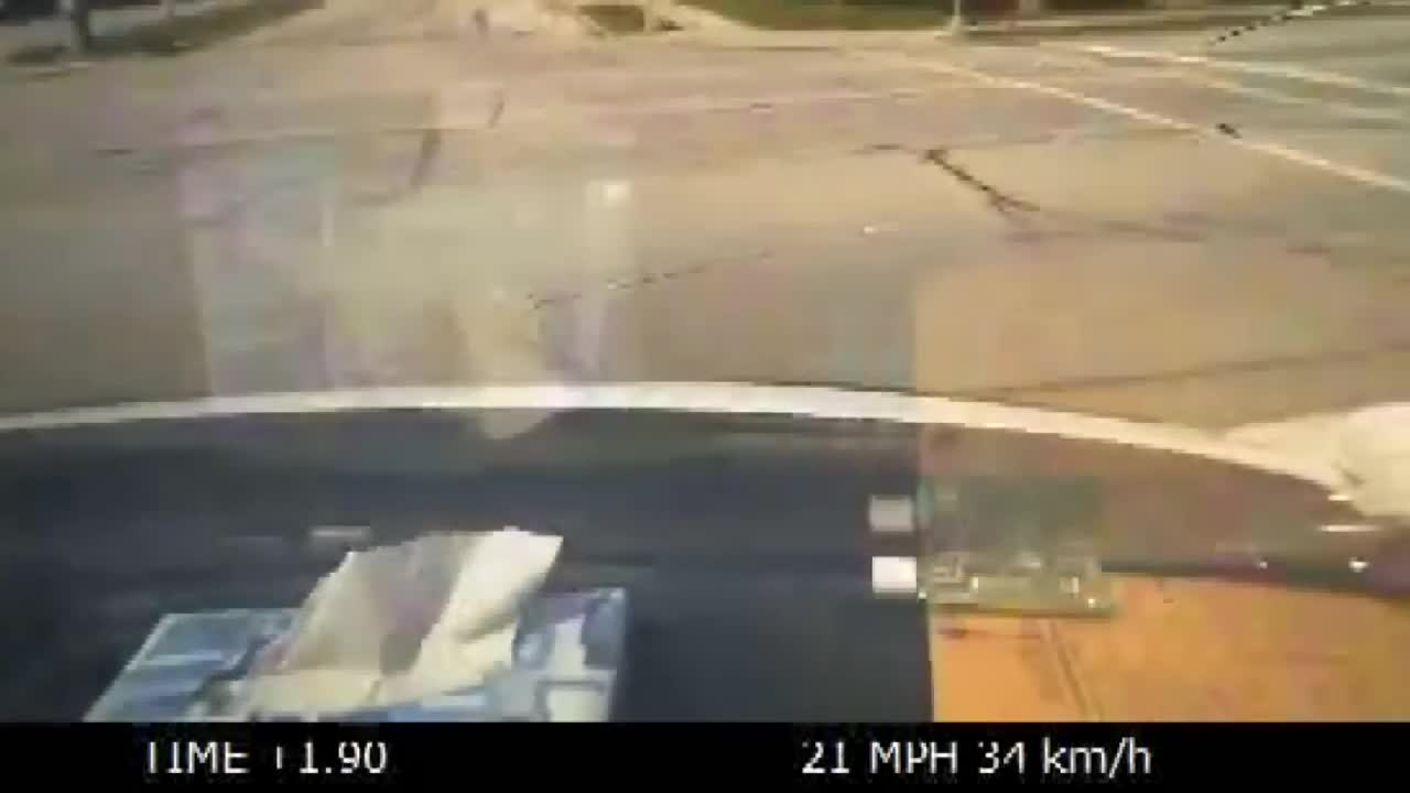 Ambulance crashes with truck