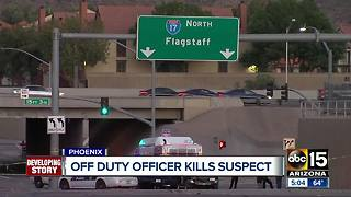 Investigation continues into officer-involved shooting in Phoenix - Video