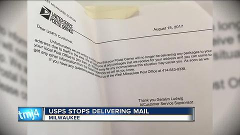 USPS indefinitely stops package deliveries in south side neighborhood