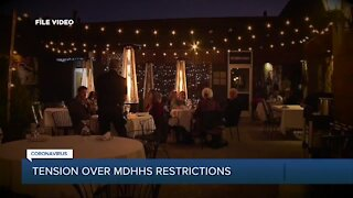 Tension over MDHHS restrictions