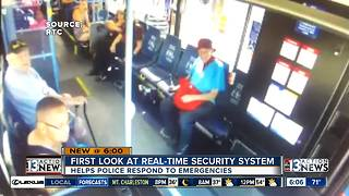 New real-time cameras coming aboard RTC buses - Video