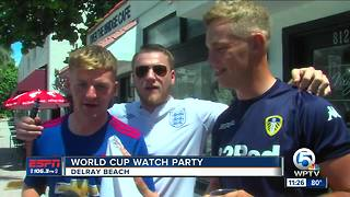 World Cup Watch Party (England v Croatia) - Video