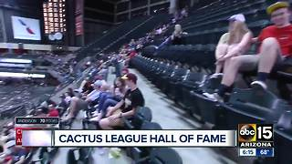 Big names being added to Cactus League Hall of Fame - Video