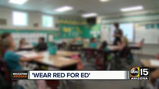 Arizona teachers plan a day of protest over low pay - Video