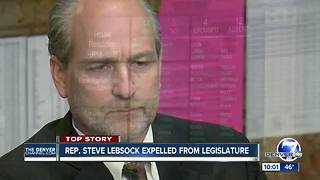 Colorado Rep. Steve Lebsock expelled from state House over sexual harassment - Video